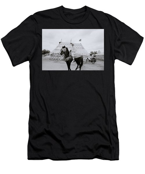 The Noble Man Men's T-Shirt (Slim Fit) by Shaun Higson