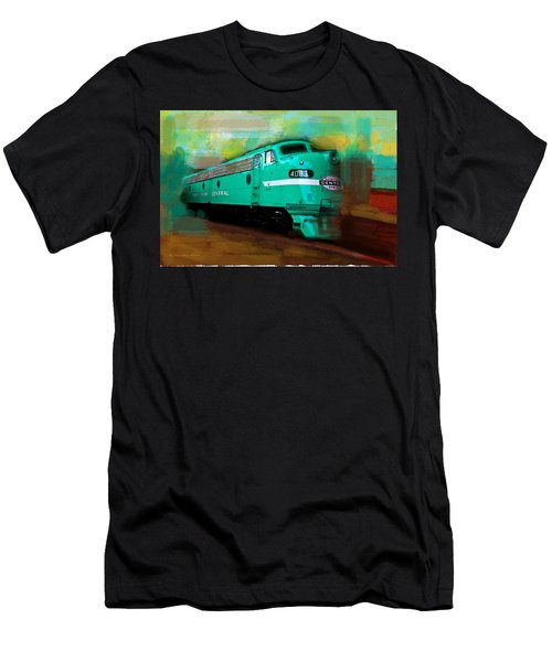 Flash II  The Ny Central 4083  Train  Men's T-Shirt (Athletic Fit)