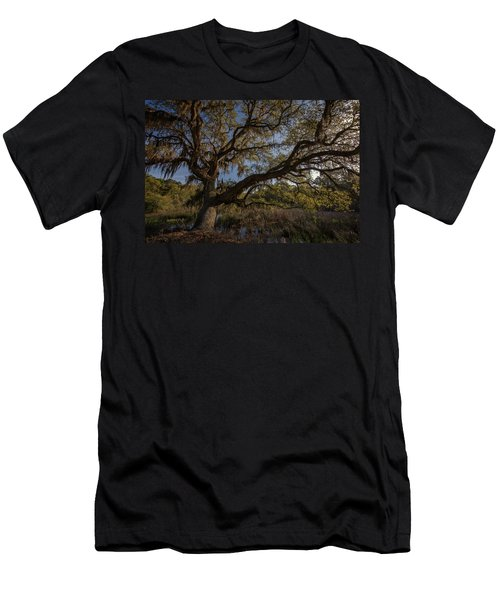 The Oak By The Side Of The Road Men's T-Shirt (Athletic Fit)