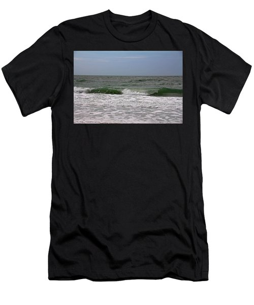 The Ocean In Motion Men's T-Shirt (Athletic Fit)
