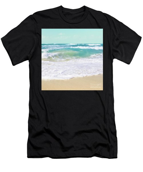 Men's T-Shirt (Athletic Fit) featuring the photograph The Ocean by Sharon Mau