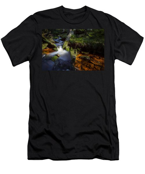 the Oder in the Harz National Park Men's T-Shirt (Athletic Fit)
