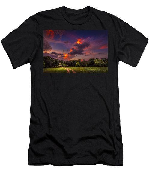 The Old Country Road Men's T-Shirt (Athletic Fit)