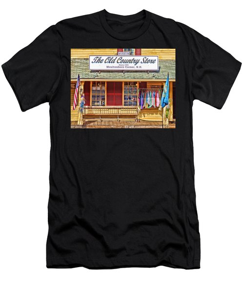 The Old Country Store, Moultonborough Men's T-Shirt (Athletic Fit)