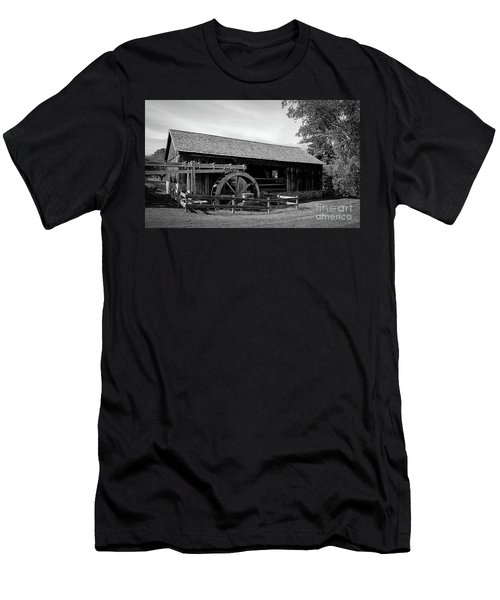 The Old Grist Mill, Vermont Men's T-Shirt (Athletic Fit)