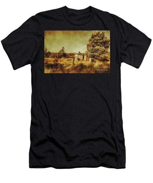 The Old Hay Barn Men's T-Shirt (Athletic Fit)