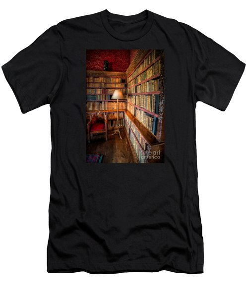 The Old Library Men's T-Shirt (Athletic Fit)