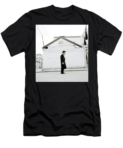 The Old Man Of Mea Shearim Men's T-Shirt (Slim Fit) by Shaun Higson