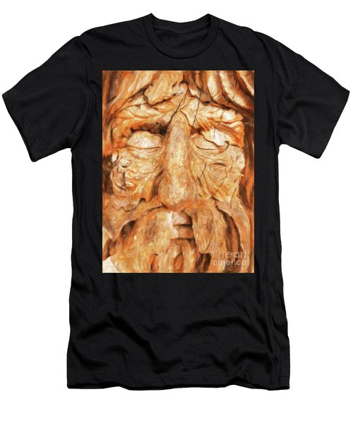 The Old Man Of The Woods By Sarah Kirk Men's T-Shirt (Athletic Fit)