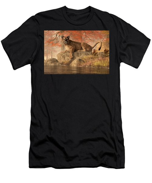 The Old Mountain Lion Men's T-Shirt (Athletic Fit)