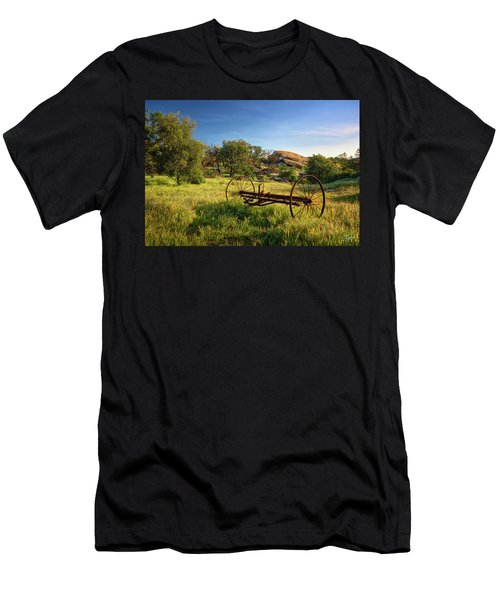The Old Mower 1 Men's T-Shirt (Athletic Fit)