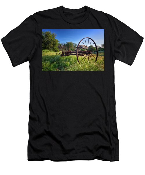 The Old Mower 2 Men's T-Shirt (Athletic Fit)