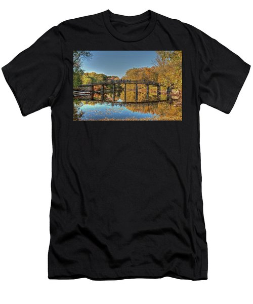 The Old North Bridge Men's T-Shirt (Athletic Fit)