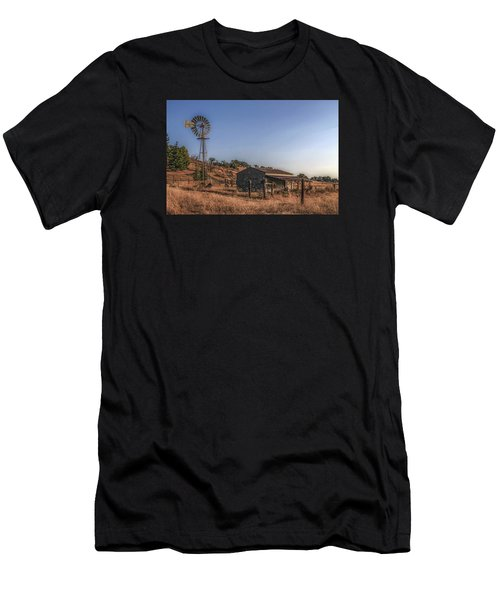 The Old Windmill Men's T-Shirt (Athletic Fit)