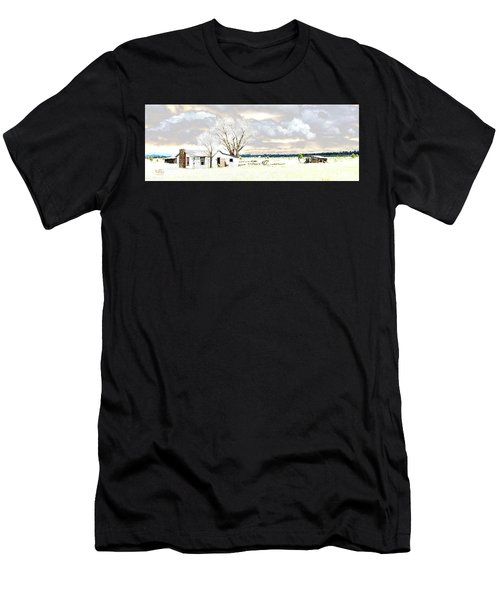 The Old Winter Homestead Men's T-Shirt (Athletic Fit)