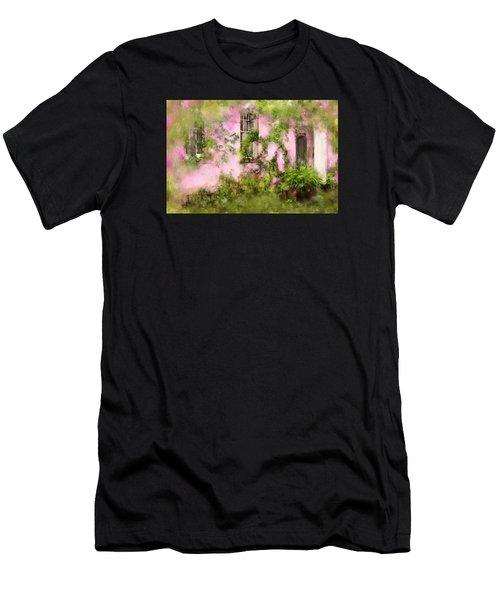 The Olde Pink House In Savannah Georgia Men's T-Shirt (Athletic Fit)