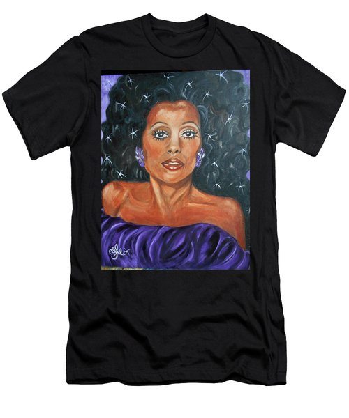 The One And Only Diana Ross Men's T-Shirt (Athletic Fit)