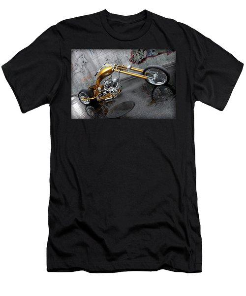 The Orange City Chopper Men's T-Shirt (Slim Fit) by David Collins