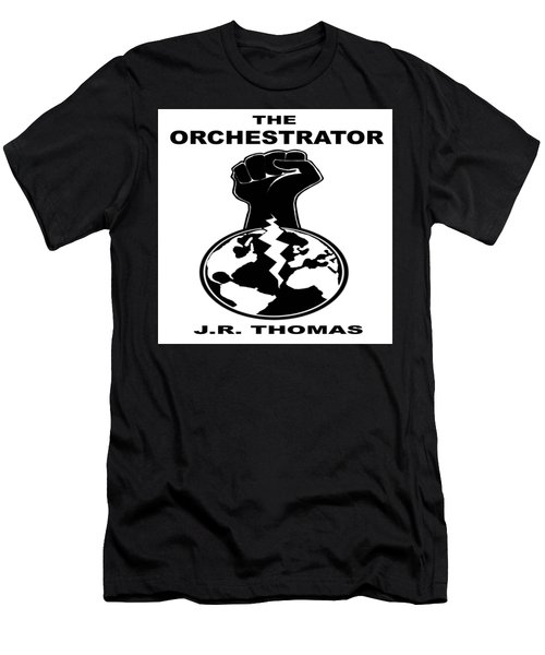 Men's T-Shirt (Athletic Fit) featuring the digital art The Orchestrator Cover by Jayvon Thomas