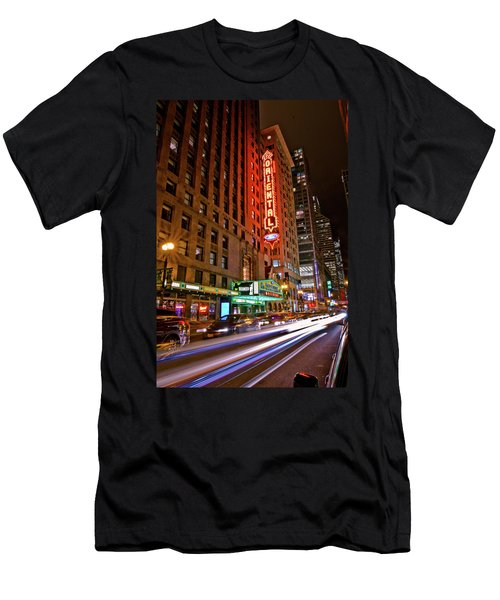 The Oriental Theater Chicago Men's T-Shirt (Athletic Fit)