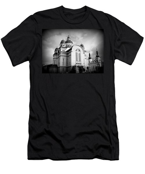 The Orthodox Cathedral And The Saint John The Baptist Church Men's T-Shirt (Athletic Fit)