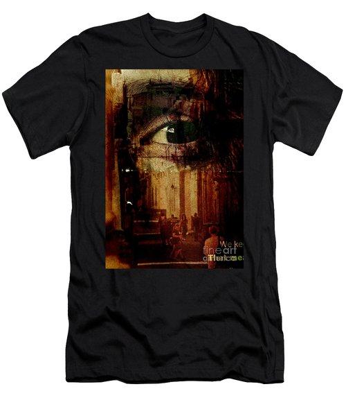 The Overseer Men's T-Shirt (Slim Fit) by Michael Cinnamond