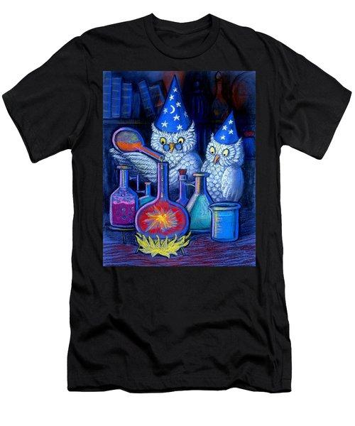 The Owl Chemists Men's T-Shirt (Athletic Fit)