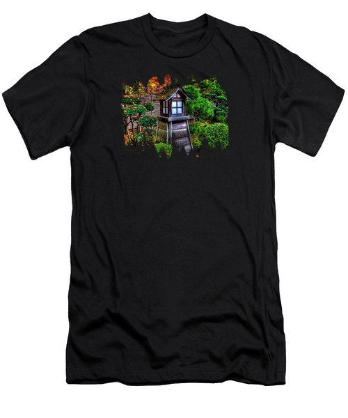 The Pagoda  Men's T-Shirt (Athletic Fit)