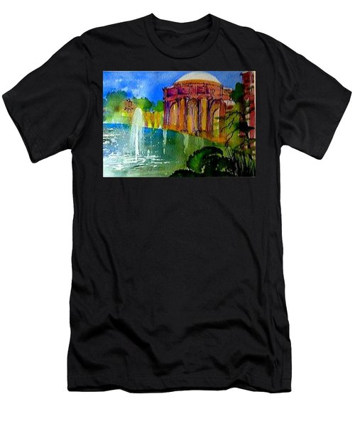 The Palace  In Miniature Men's T-Shirt (Athletic Fit)