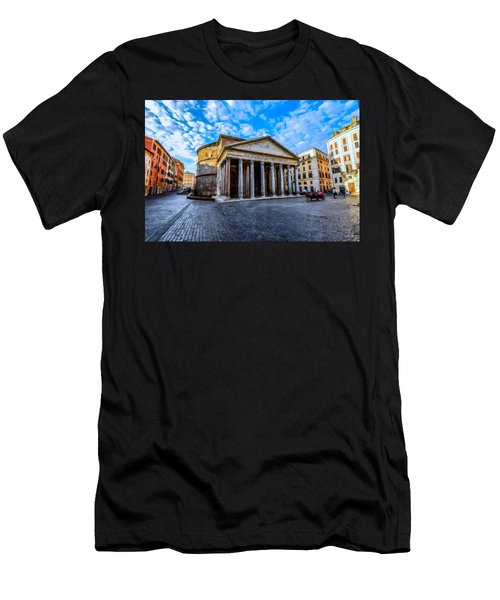 The Pantheon Rome Men's T-Shirt (Athletic Fit)