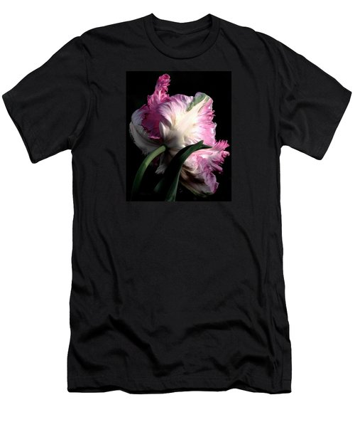 The Parrot Tulip Queen Of Spring Men's T-Shirt (Athletic Fit)