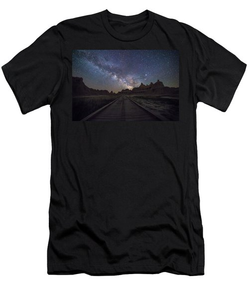 Men's T-Shirt (Athletic Fit) featuring the photograph The Path by Aaron J Groen