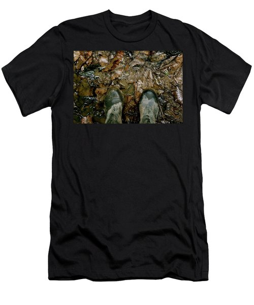 The Path Into The Amazon Men's T-Shirt (Athletic Fit)
