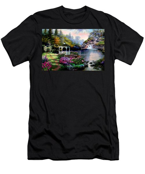 The Path Least Followed Men's T-Shirt (Slim Fit) by Ron Chambers