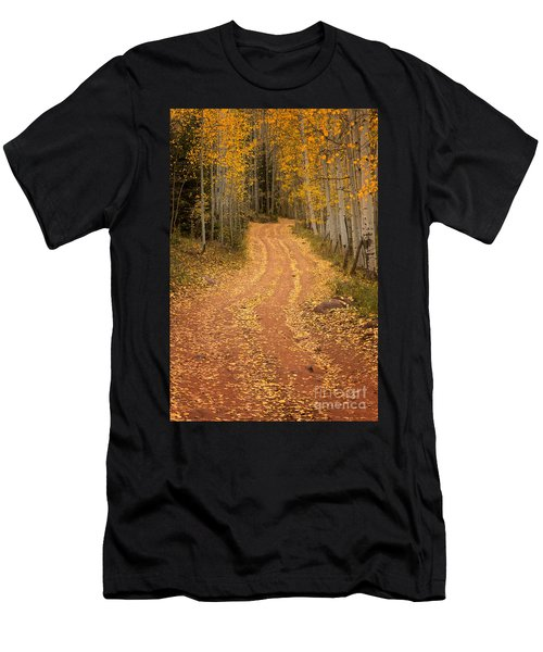 The Pathway To Fall Men's T-Shirt (Athletic Fit)
