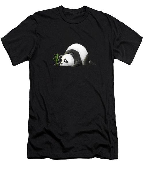 The Patient Panda Men's T-Shirt (Athletic Fit)
