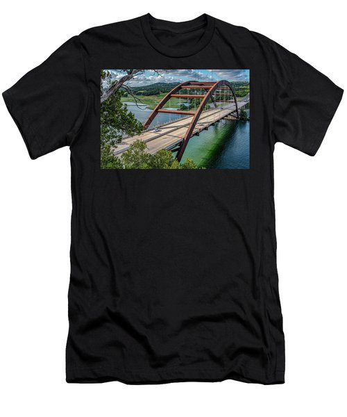 The Pennybacker Bridge Men's T-Shirt (Athletic Fit)