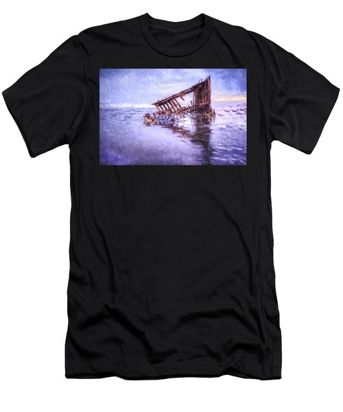 A Stormy Peter Iredale Men's T-Shirt (Athletic Fit)