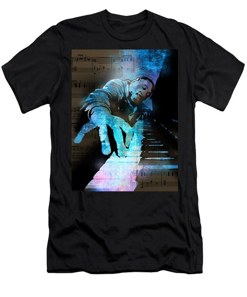 The Piano Man Men's T-Shirt (Athletic Fit)