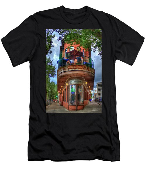 Men's T-Shirt (Athletic Fit) featuring the photograph The Pickle Barrel Chattanooga Tn Art by Reid Callaway
