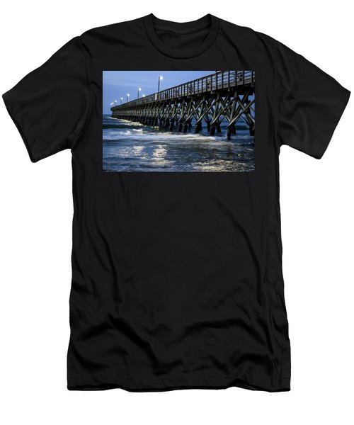 The Pier At The Break Of Dawn Men's T-Shirt (Athletic Fit)