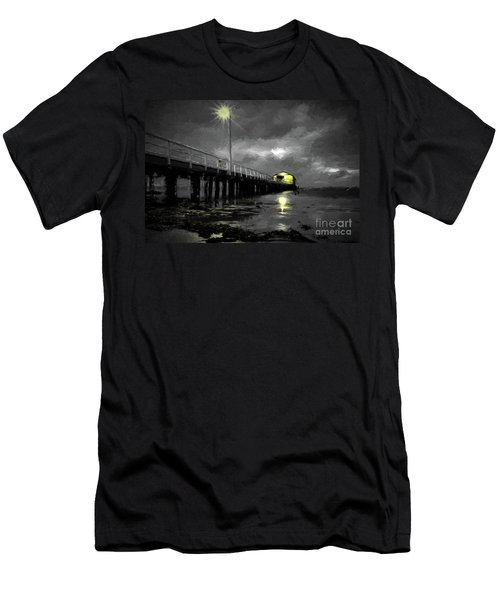 The Pier On The Bay Men's T-Shirt (Athletic Fit)