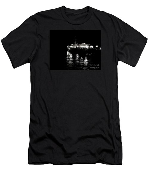 Men's T-Shirt (Slim Fit) featuring the photograph The Pier by Vanessa Palomino