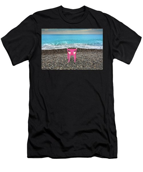 The Pink Chair Men's T-Shirt (Athletic Fit)