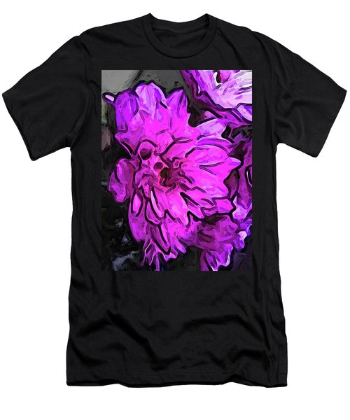 The Pink Flower With The Lavender Edges Men's T-Shirt (Athletic Fit)
