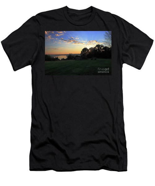 The Point At Sunrise Men's T-Shirt (Athletic Fit)