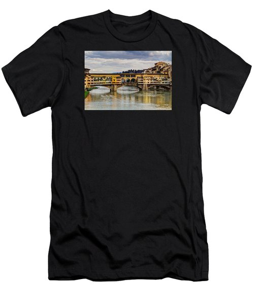 The Ponte Vecchio Men's T-Shirt (Athletic Fit)