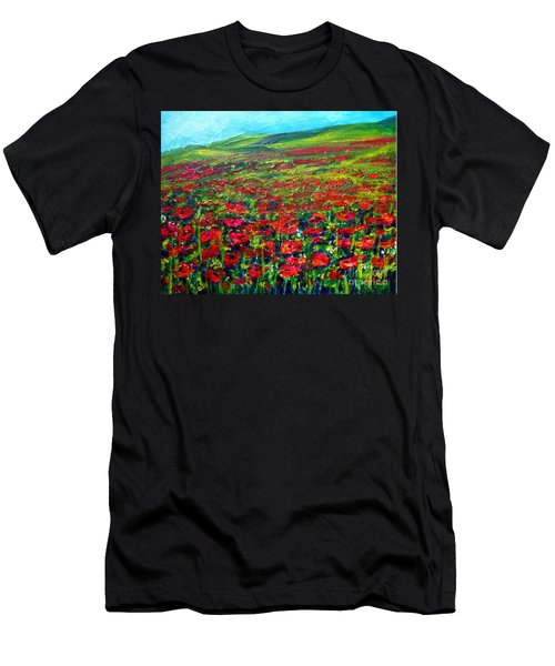 The Poppy Fields Men's T-Shirt (Athletic Fit)