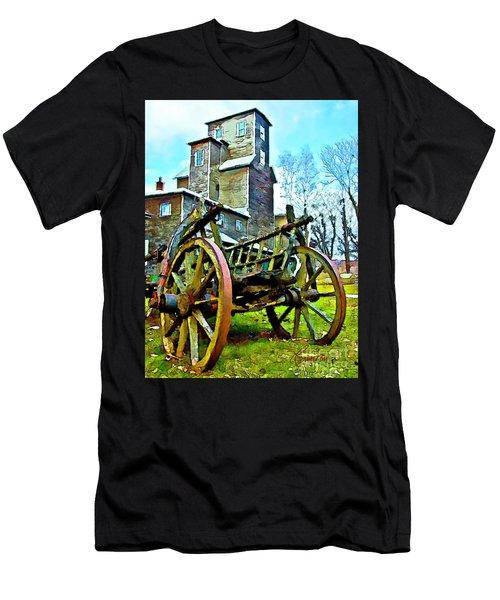 The Pottery - Bennington, Vt Men's T-Shirt (Athletic Fit)