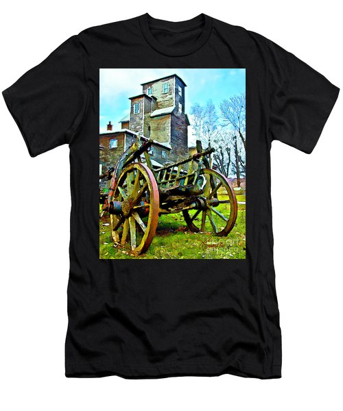 The Pottery - Bennington, Vt Men's T-Shirt (Athletic Fit)